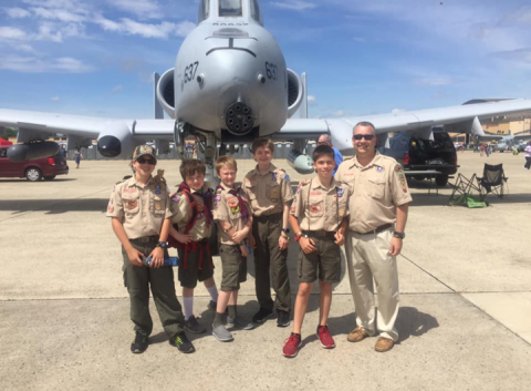 Panthers and Pythons Attend Air Show